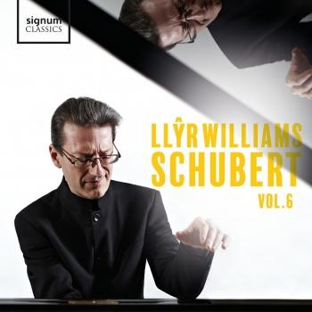 Cover Llŷr Williams: Schubert, Vol. 6
