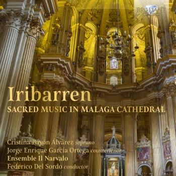 Cover Iribarren: Sacred Music in Malaga Cathedral