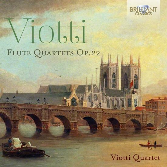 Cover Viotti: Flute Quartets, Op. 22