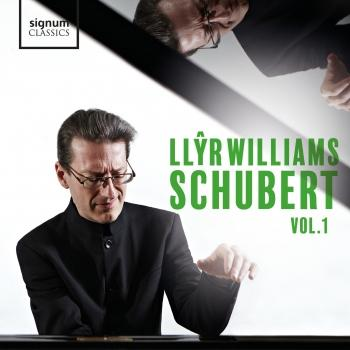 Cover Llŷr Williams: Schubert, Vol. 1