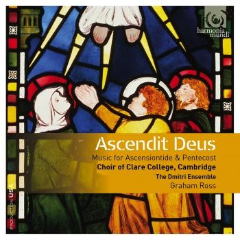 Cover Ascendit Deus: Music for Ascensiontide & Pentecost