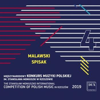 Cover The Stanisław Moniuszko International Competition of Polish Music in Rzeszów 2019, Vol. 4