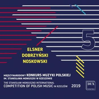 Cover The Stanisław Moniuszko International Competition of Polish Music in Rzeszów 2019, Vol. 5