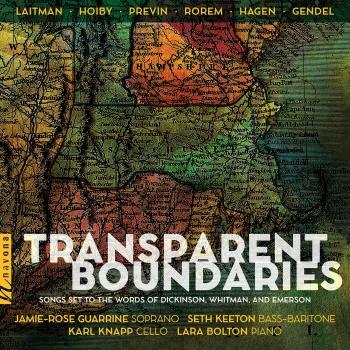 Cover Transparent Boundaries: Songs Set to the Words of Dickinson, Whitman & Emerson