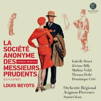 Cover La Société Anonyme des Messieurs Prudents