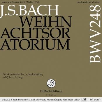Cover Weihnachtsoratorium, BWV 248 (Live)