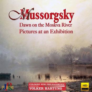 Cover Mussorgsky: Dawn on the Moskva River & Pictures at an Exhibition