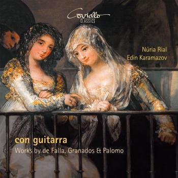 Cover Con Guitarra - Works by de Falla, Granados & Palomo