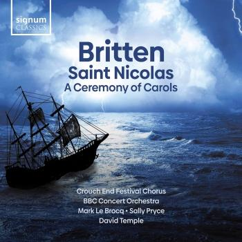 Cover Britten: A Ceremony of Carols, Saint Nicolas