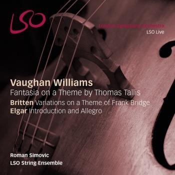 Cover Williams, Britten & Elgar: Orchestral Works