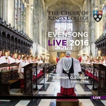 Cover Evensong Live 2016