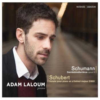 Cover Schumann: Davidsbündlertänze, Op. 6 - Schubert: Sonate pour piano en Si-Bémol Majeur, D. 960