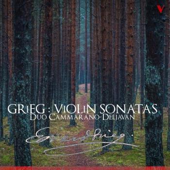 Cover Grieg: Violin Sonatas