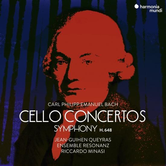 Cover C.P.E. Bach: Cello Concertos