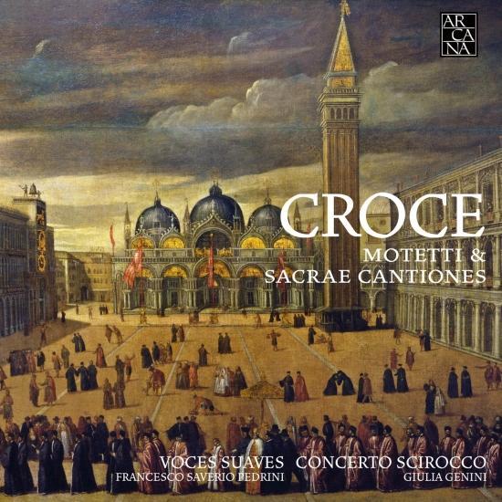 Cover Croce: Motetti & Sacrae Cantiones