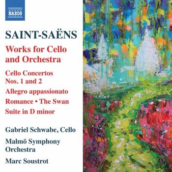 Cover Saint-Saëns: Works for Cello & Orchestra