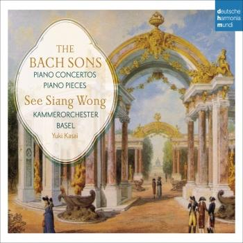 Cover The Bach Sons: Piano Concertos & Solo Pieces
