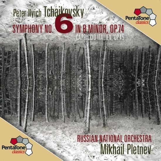 "Cover Tchaikovsky: Symphony No. 6 ""Pathétique"" / Capriccio Italien"