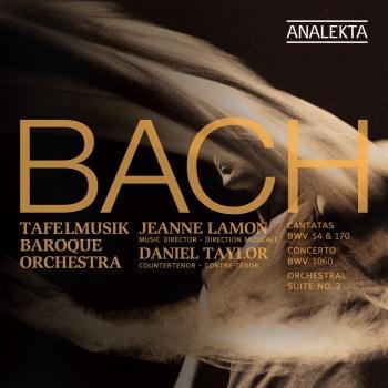 Cover J.S. Bach: Cantatas BWV 70 & 154; Concerto BWV 1060; Orchestral Suite No. 2