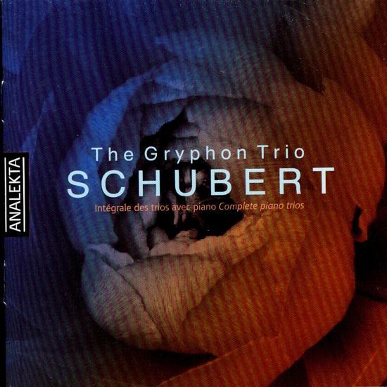 Cover Schubert: Complete piano trios