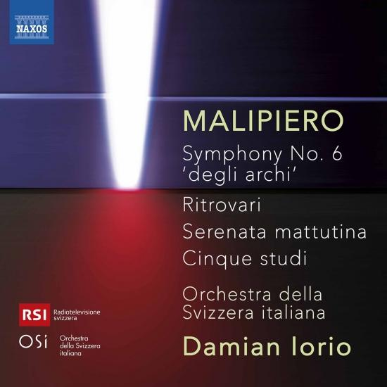 Cover Malipiero: Orchestral Works