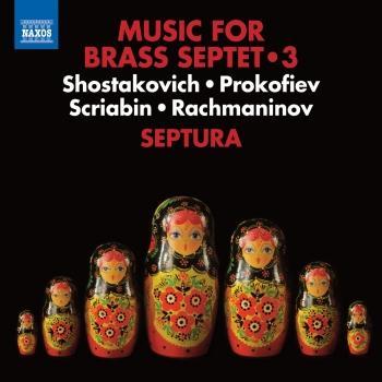 Cover Music for Brass Septet, Vol. 3 - Works from Schostakowitsch / Prokofiev / Scriabin / Rachmaninov