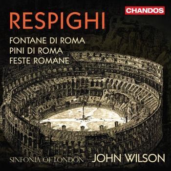 Cover Respighi: Roman Trilogy