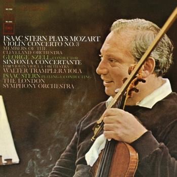 Cover Mozart: Violin Concerto No. 3, K. 216 & Sinfonia concertante, K. 364 (Remastered)