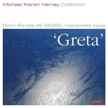Cover Greta Piano Sonata #5 (2020): interpreted twice