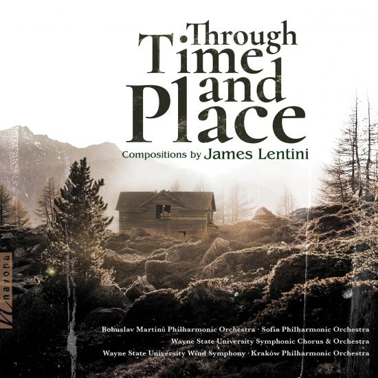 Cover James Lentini: Through Time and Place