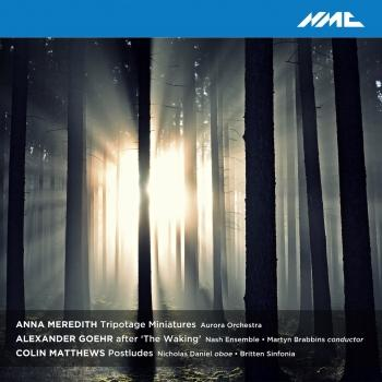 Cover Anna Meredith, Alexander Goehr & Colin Matthews: Chamber Works (Live)