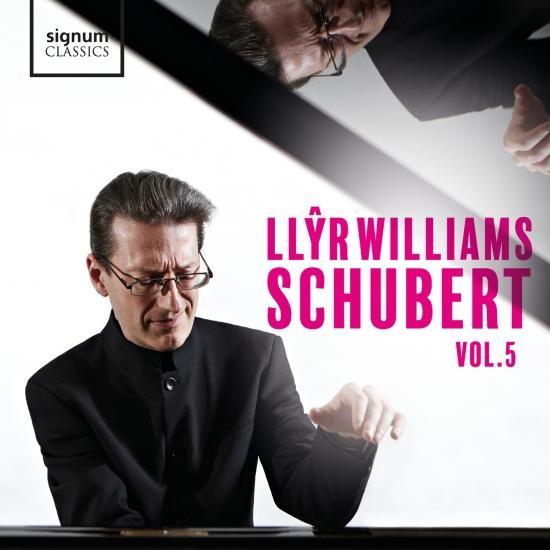 Cover Llŷr Williams: Schubert, Vol. 5