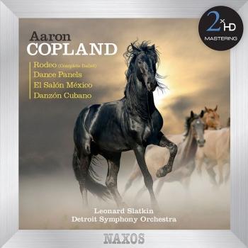 Cover Copland: Rodeo / Dance Panels / El salón México / Danzón cubano