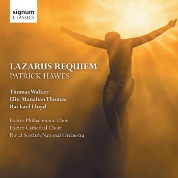 Cover Hawes: Lazarus Requiem