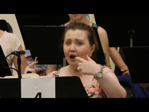 Video Opera Rara Rossini's Semiramide recording - The Making Of