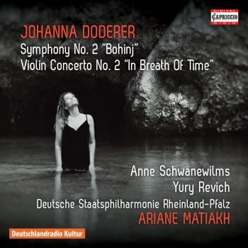 Cover Doderer: Symphony No. 2, DWV 93 Bohinj & Violin Concerto No. 2, DWV 62b In Breath of Time