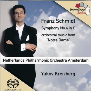 Cover Schmidt Symphony No. 4 / Notre Dame