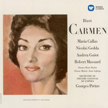 Cover Bizet: Carmen (1964 - Prêtre) - Callas Remastered