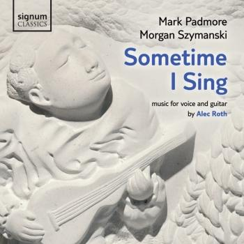 Cover Roth: Sometime I Sing - Music for Voice and Guitar