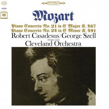 Cover Mozart: Piano Concerto Nos. 21 & 24 (Remastered)