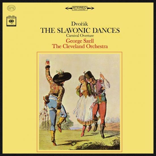 Cover Dvorák: The Slavonic Dances (Remastered)