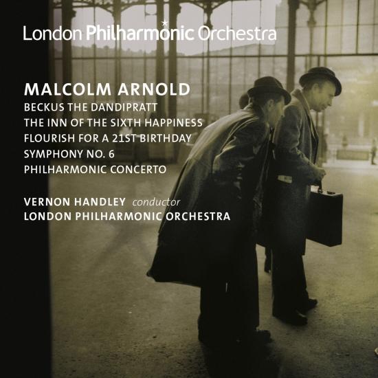 Cover Arnold: Symphony No. 6