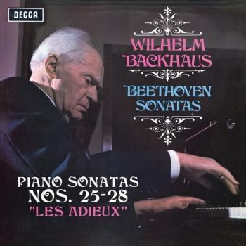 "Cover Beethoven: Piano Sonatas Nos. 25, 26 ""Les Adieux"", 27 & 28"