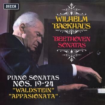 """Cover Beethoven: Piano Sonatas Nos. 19, 20, 21 """"Waldstein"""", 22, 23 """"Appasionata"""" & 24"""