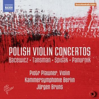 Cover Polish Violin Concertos