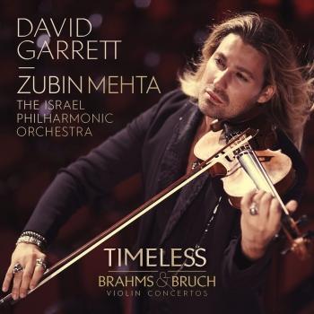 Cover TIMELESS Brahms & Bruch Violin Concertos