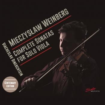 Cover Mieczyslaw Weinberg: Complete Sonatas for Solo Viola