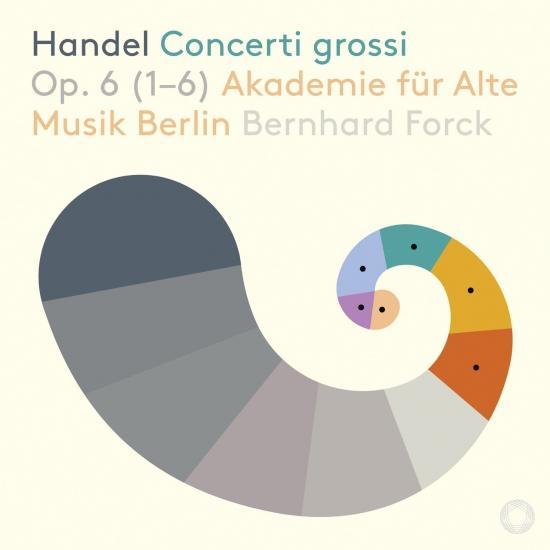 Cover Handel: Concerti grossi, Op. 6 Nos. 1-6