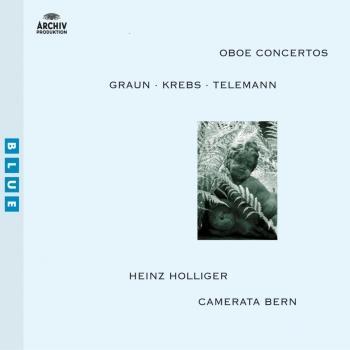 Cover Graun / Krebs / Telemann: Oboe Concertos