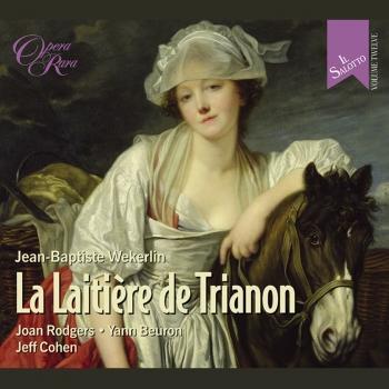 Cover Weckerlin: La Laitiere de Trianon